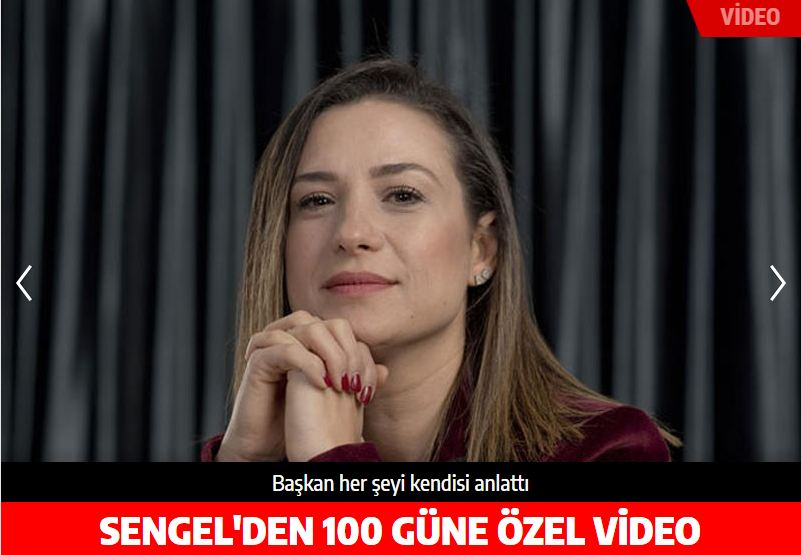 Baskan Sengel'den 100 güne özel video
